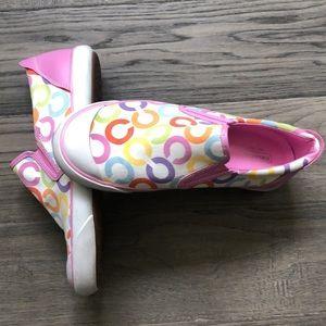 ⭐️Coach⭐️ | Beale rainbow slip on sneakers